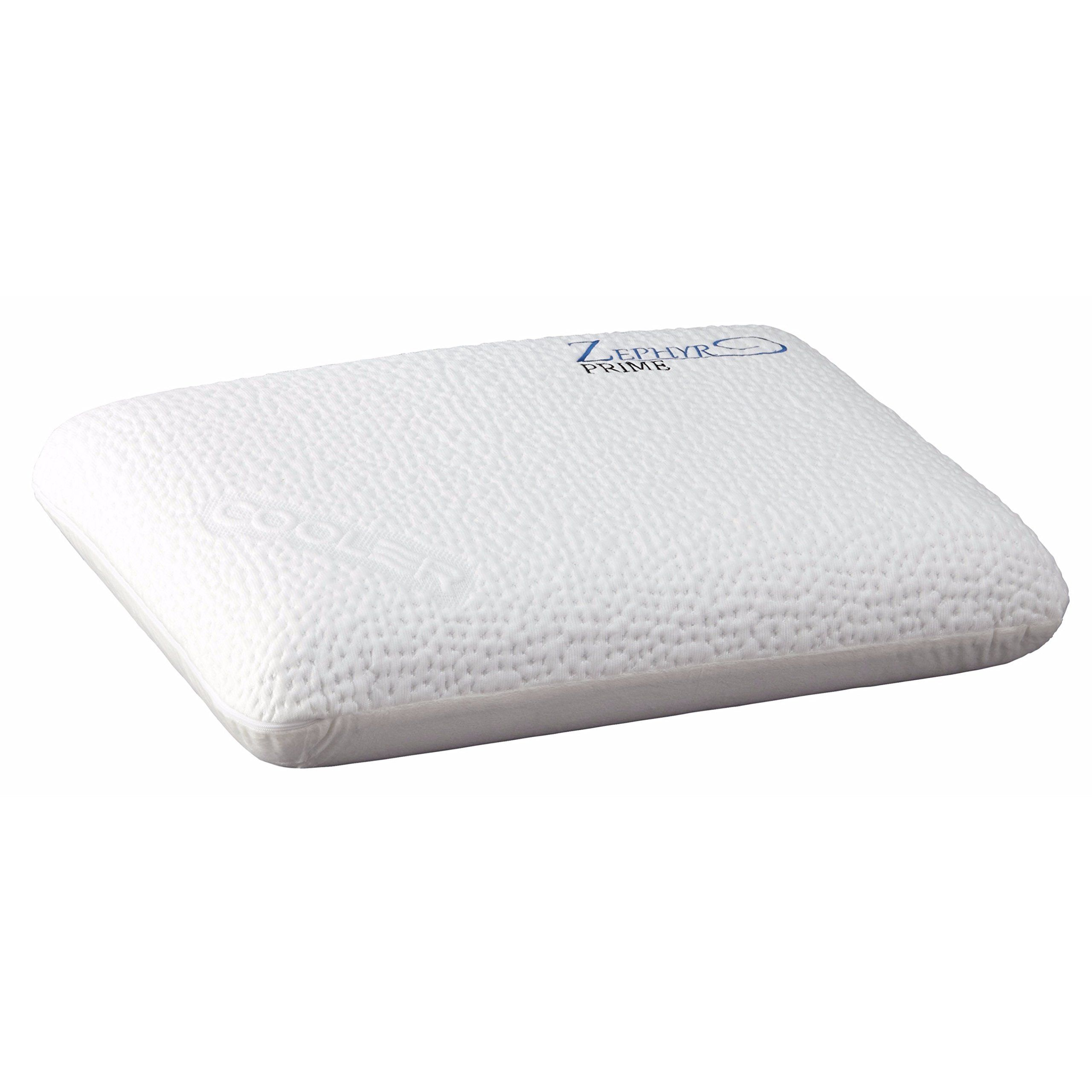 foam the therapeutic and horseshoe place water more tens pillow memory back chiropractic pillows