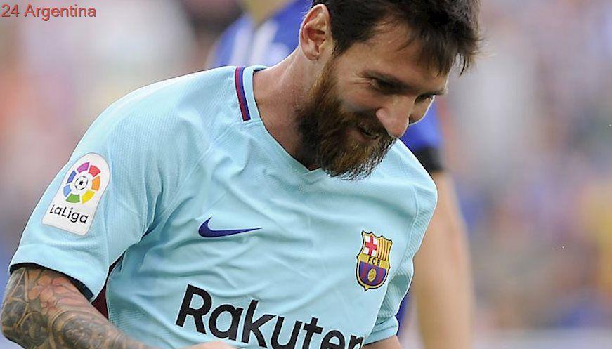 Con dos goles históricos, Messi le dio otra victoria a Barcelona