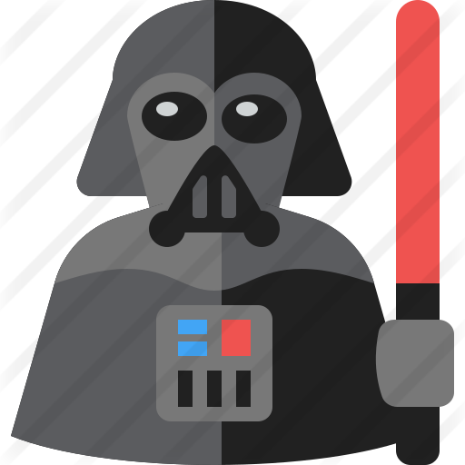 Darth Vader Free Vector Icons Designed By Webalys Kids Giveaway Geeky Gift Geeky
