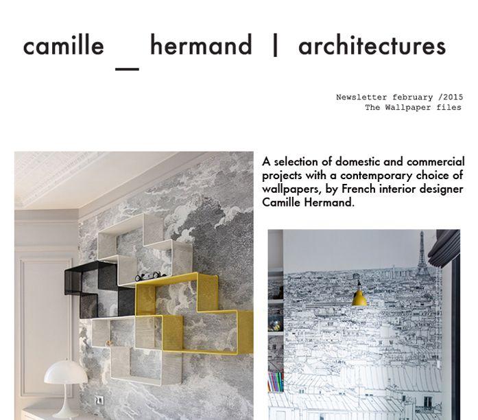 The wallpaper files   Camille Hermand Architectures    Camille - creer un plan de maison