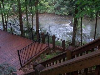 Vrbo Com 208262 The Best Location On The Toccoa River Cabin Riverwatch Cabin Vacation Cabin Rentals River Cabin