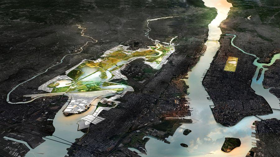 Hoboken Redevelopment Mit Cau Zus Urbanisten Design Competitions Design Urban Planning