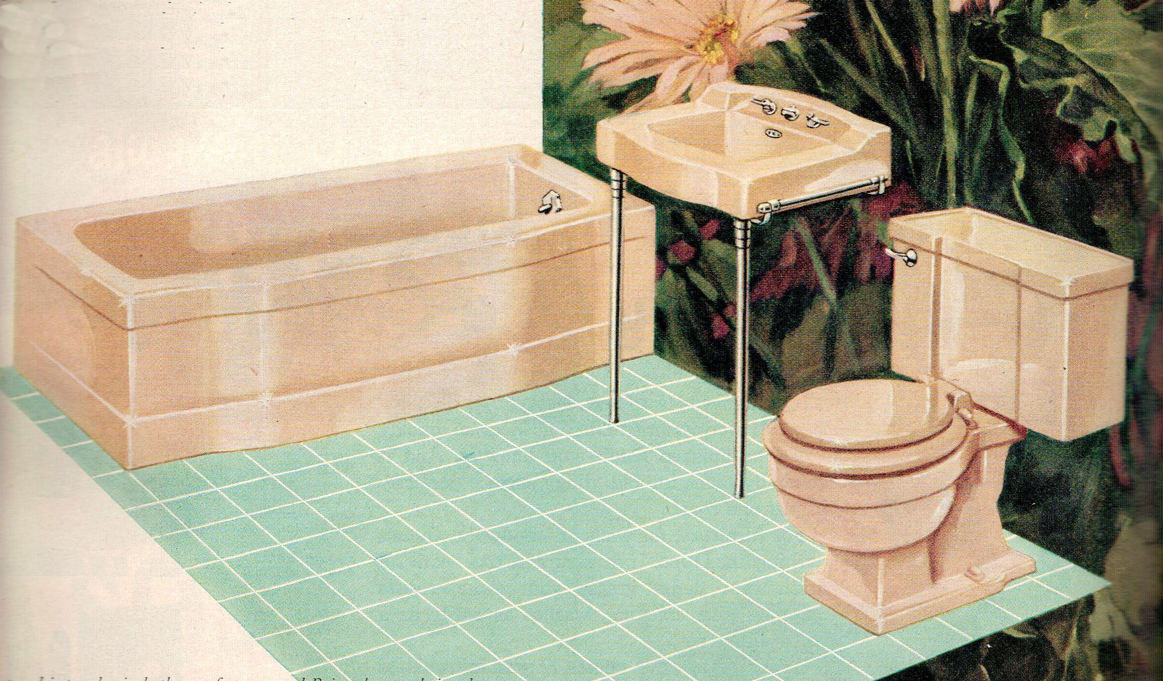 Briggs Decor bathroom fixtures in new color \