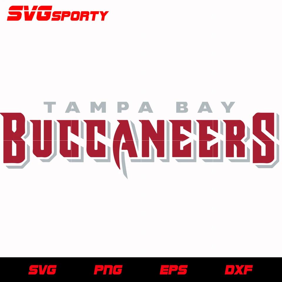 Tampa Bay Buccaneers Text Logo Svg Nfl Svg Eps Dxf Png Digital File In 2020 Tampa Bay Buccaneers Tampa Bay Tampa Bay Buccaneers Football