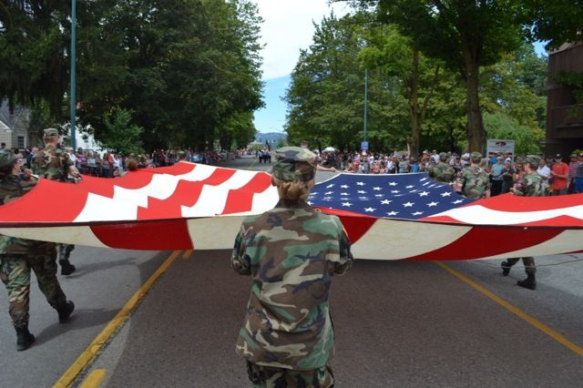 Flag Day June 14th This Huge Garrison Flag Is 38 Feet X 20 Feet God Bless America Memorial Day American Pride