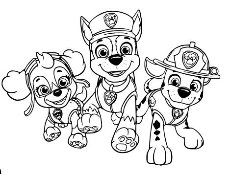 Dibujos De Paw Patrol Para Colorear Paw Patrol Para