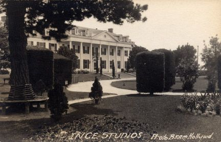 Ince Studios - Real photo from late teens.  Studio lot subsequently became DeMille, Pathe, Selznick, and Desilu.