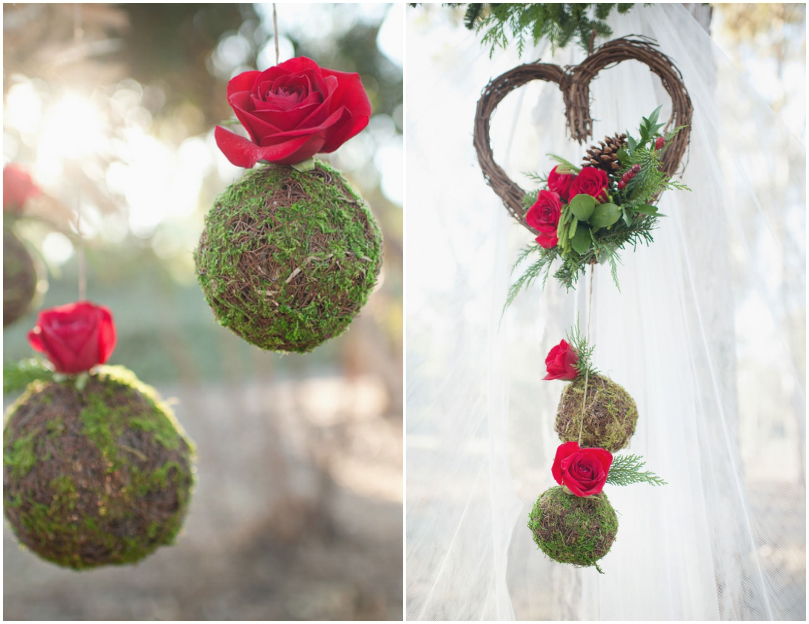 Winter Rustic Wedding Ideas | Red wedding decorations, Red wedding ...