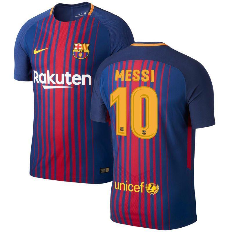 0e12f53849c00 Lionel Messi Barcelona Nike 2017/18 Home Vapor Match Authentic Jersey -  Royal