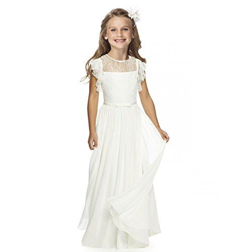 7a741b8c15 Fancy Girls Holy Communion Dresses 1-12 Year Old Off Whit... https