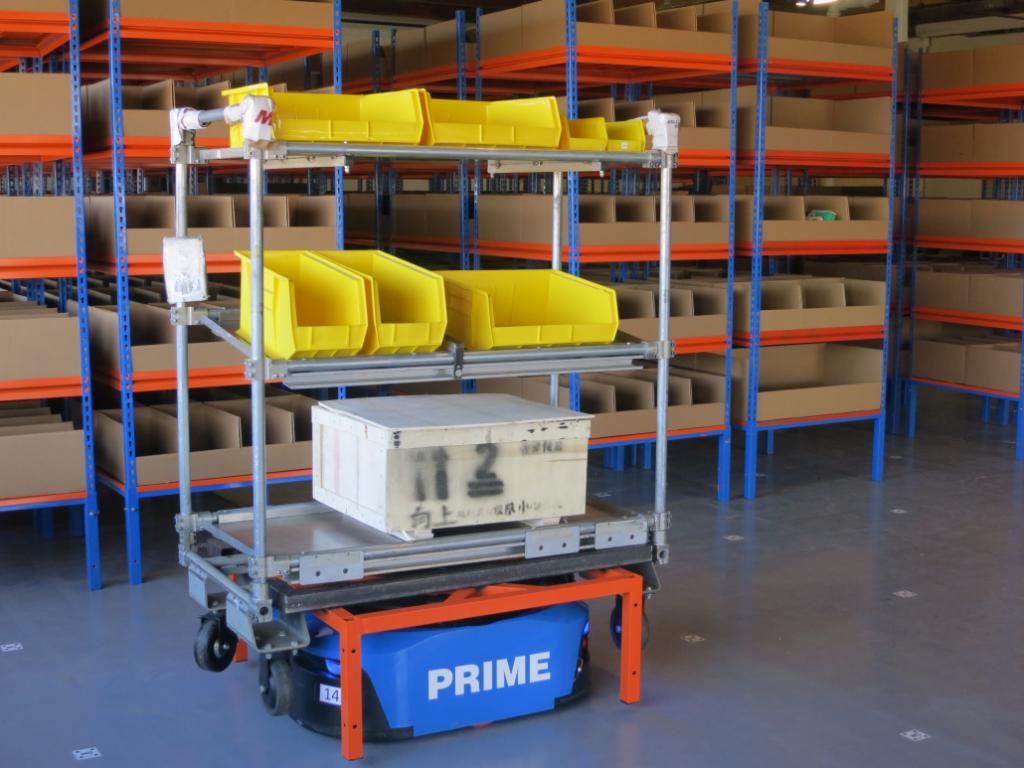 Prime Robotics Deploys Warehouse Robotic System for Prague