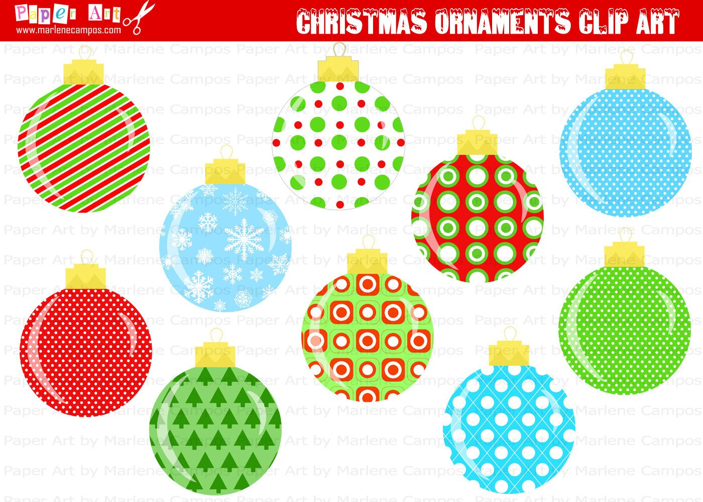 Christmas Clip Art Pictures Popular Items For Ornament Clip Art On Etsy Jpg Printable Christmas Ornaments Printable Christmas Coloring Pages Diy Holiday Cards