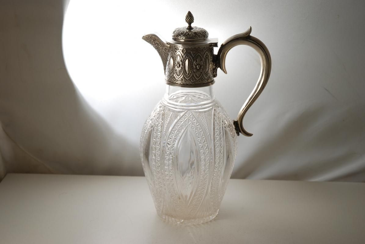 A Victorian Silver Claret Jug Claret, Victorian, Candlelight