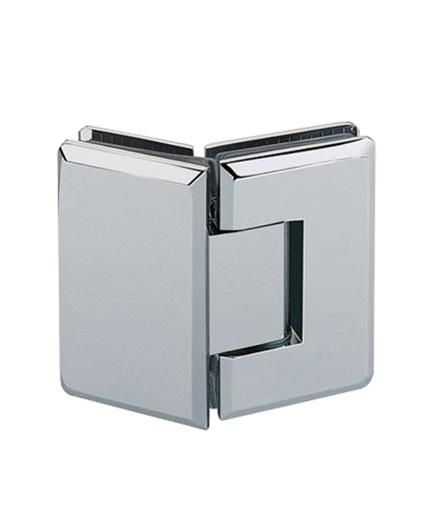 135 Glass To Glass Shower Hinge Www Ahbrass Co Uk Glass Shower Glass Boxes Shower Doors
