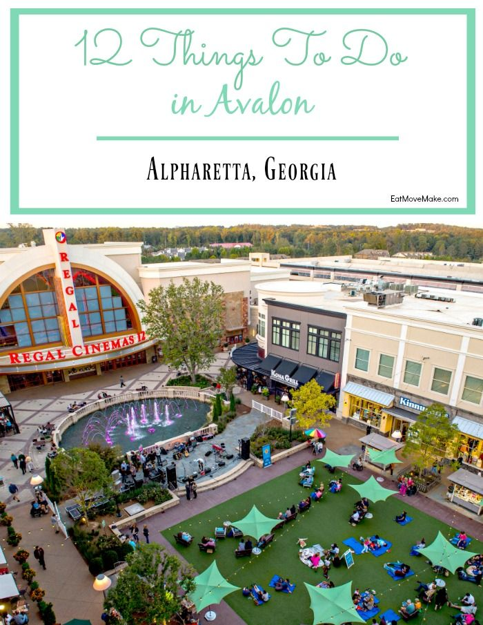 Avalon Alpharetta Walkable Retail Complex Infused With Shopping