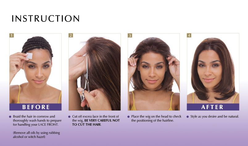 How To Put On Lace Wigs Full Lace Wig Lace Wigs Wigs