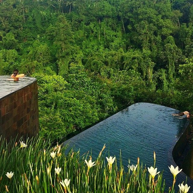 Bali in two words? Lush and Luxe. Photo courtesy of ellchintya via dametraveler on Instagram.