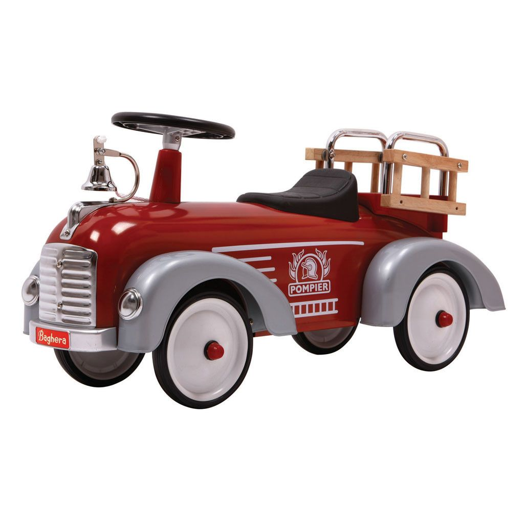 fireman play car for kids vintage retro kid fun for the outside outdoors