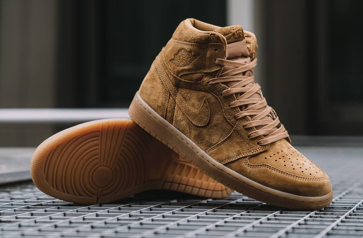 e7c14d10553a53 Air Jordan 1 Retro High OG Wheat Drops In A Few Weeks