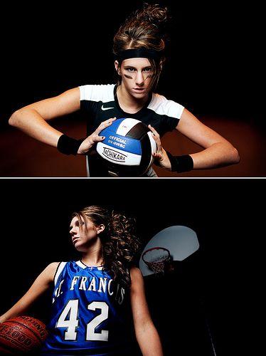 I Like The Sport Senior Pics