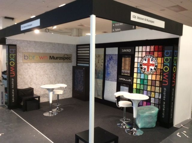 Last day at Retail Design Expo, at Olympia London.