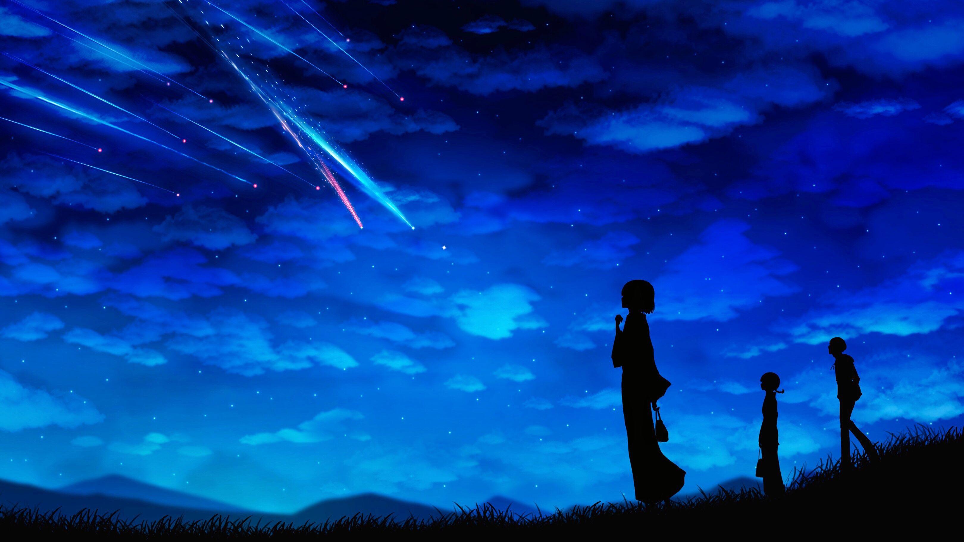 Makoto Shinkai Kimi No Na Wa Wallpaper Full Hd Free Download