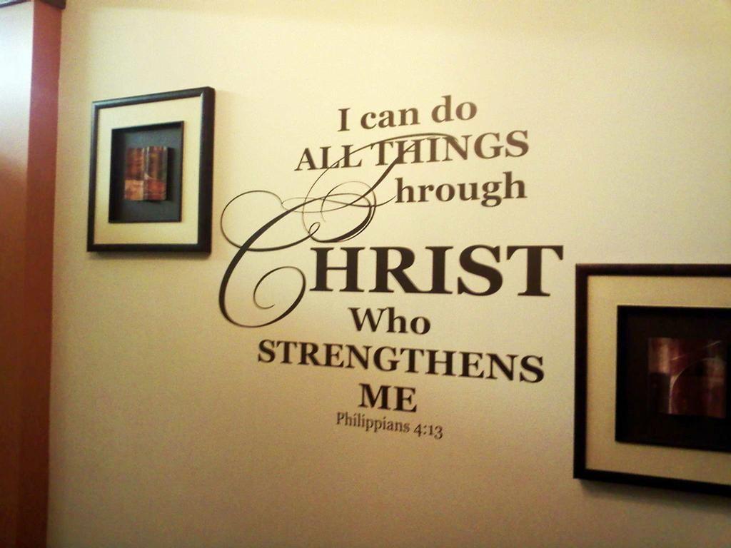 Wall scripture | Decorating Board | Pinterest | Scriptures, Walls ...