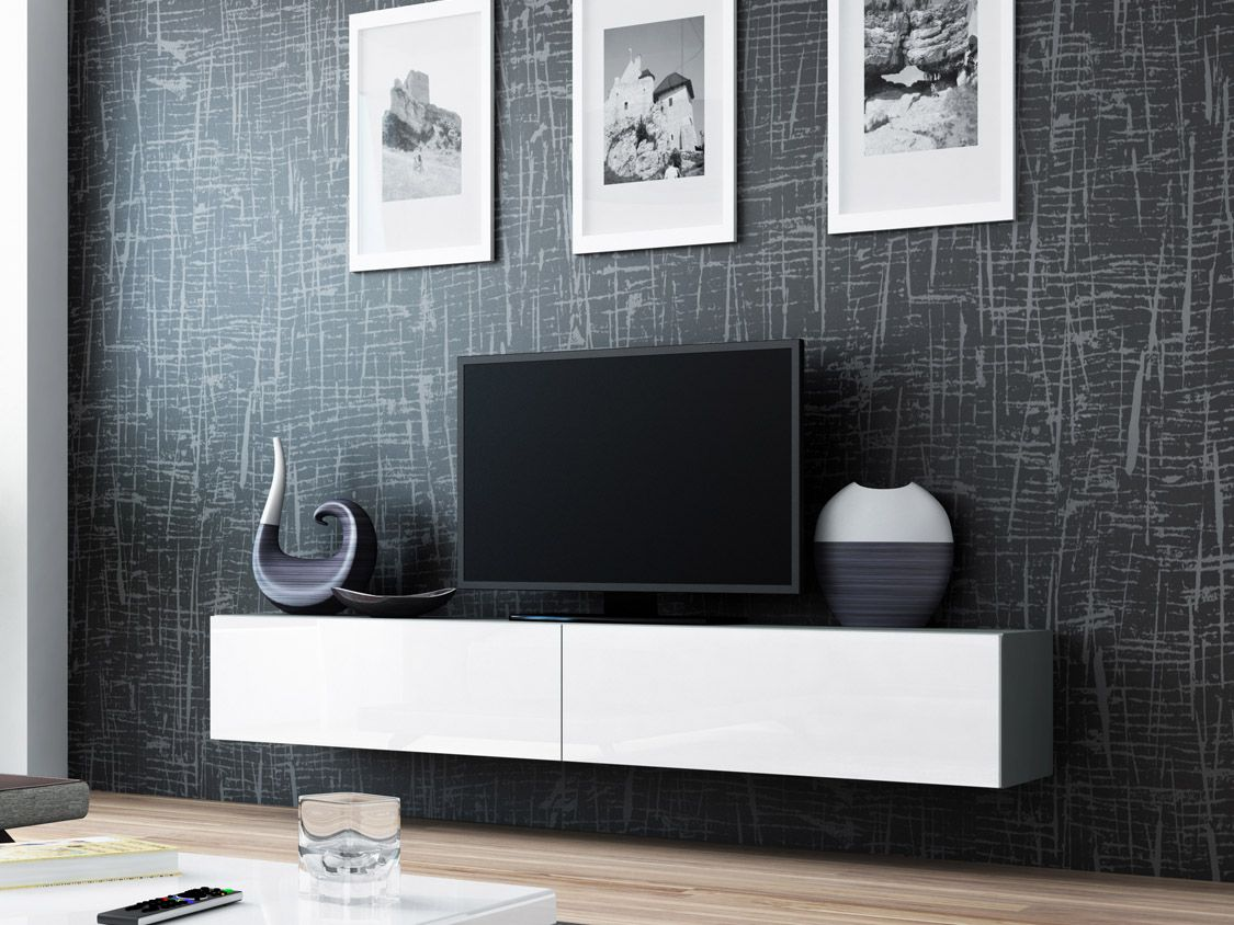 Seattle 56 Meuble Tv Modulable Meuble Tv Led Et Meuble Tv Moderne # Meuble Tv Modulable Design