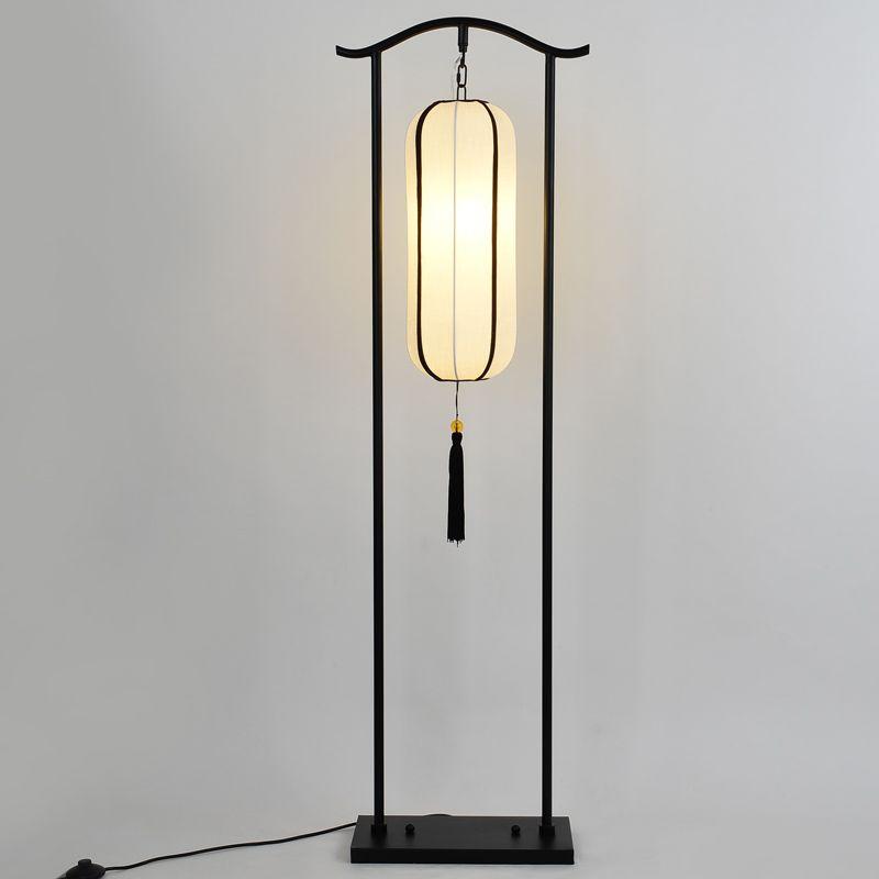 Creative Lighting Floor Lamp Chinese Style Classical Iron Cloth Living Room Bedroom Dining Room Retro Desk Metal Lamp Design Retro Desk Lamp Asian Floor Lamps
