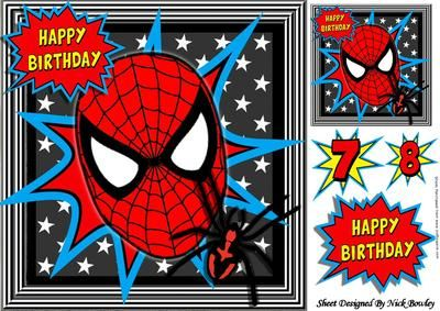 Spider web mask with spider and stars 8x8 on Craftsuprint - Add To Basket!