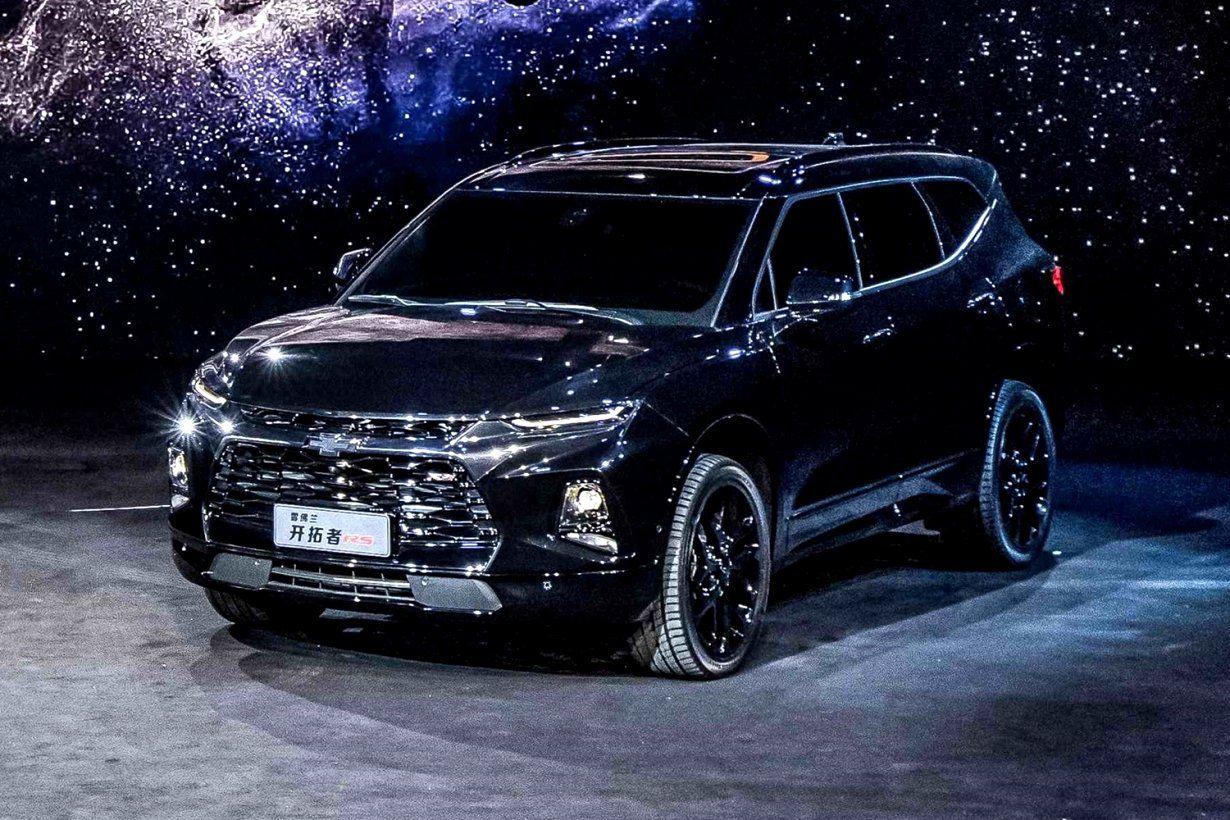 2020 Chevrolet Blazer Xl Spy Shoot In 2021 Chevrolet Blazer Blazer New Chevy
