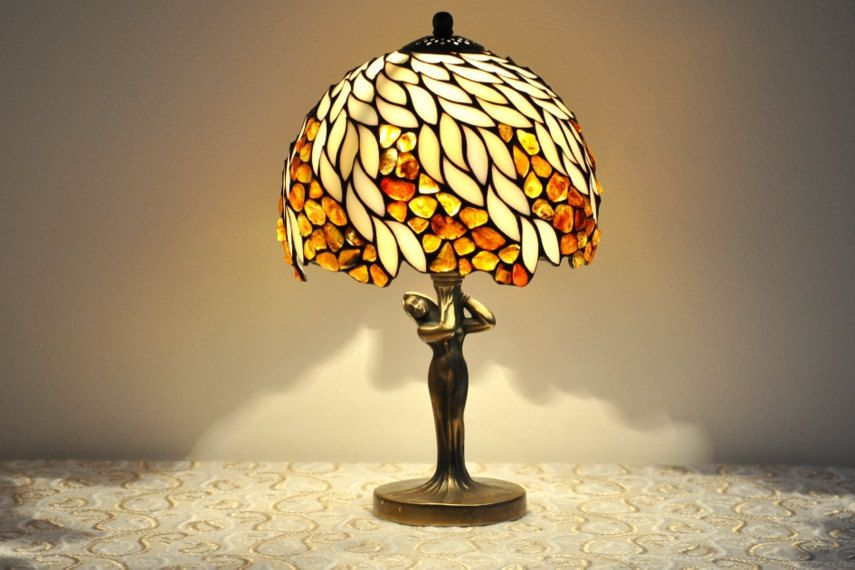 Lamp Bedside Lamp Table Lamp Stained Glass Tiffany Lamp Lamps