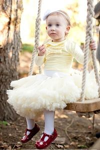 Gorgeous #petticoats for little girls from Doris Designs.
