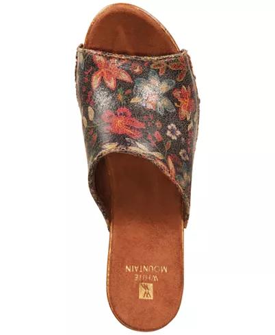 White MountainAltoria Platform Sandals