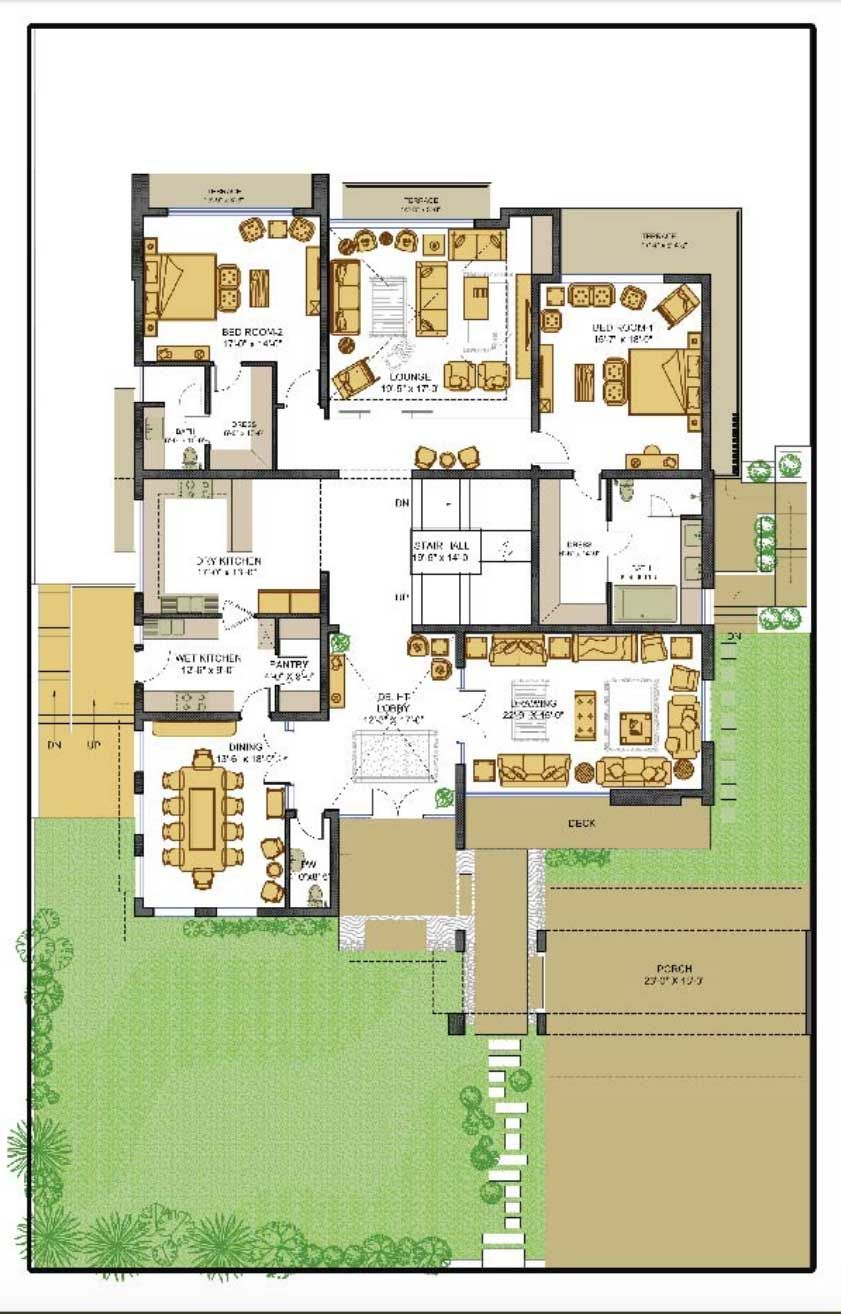 Pin By Lamaat Mahmood On Floor Plans Pakistan Classic House Exterior Home Map Design House Map