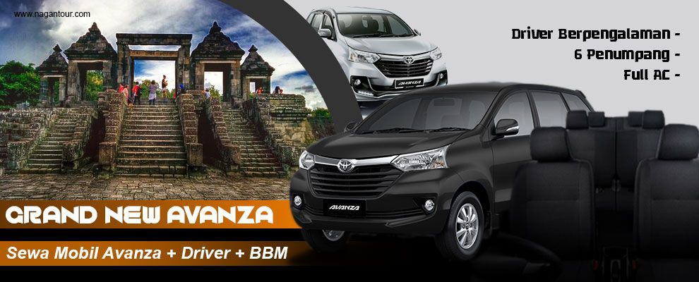 bbm untuk grand new avanza jual all kijang innova sewa jogja murah rental mobil dengan supir tempat di termurah yogyakarta 2018 gratis
