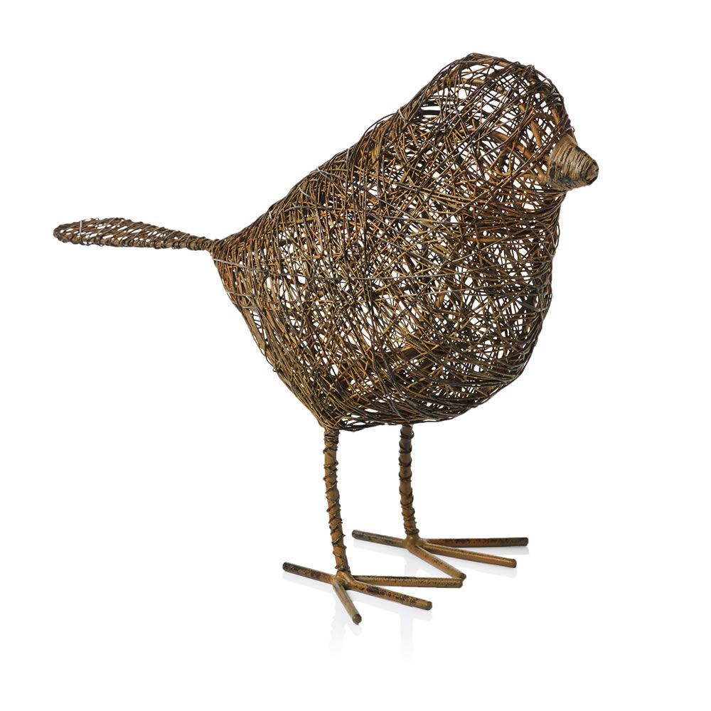 Wilko Mesh Steel Wire Bird 2 Sizes Avaliable Garden