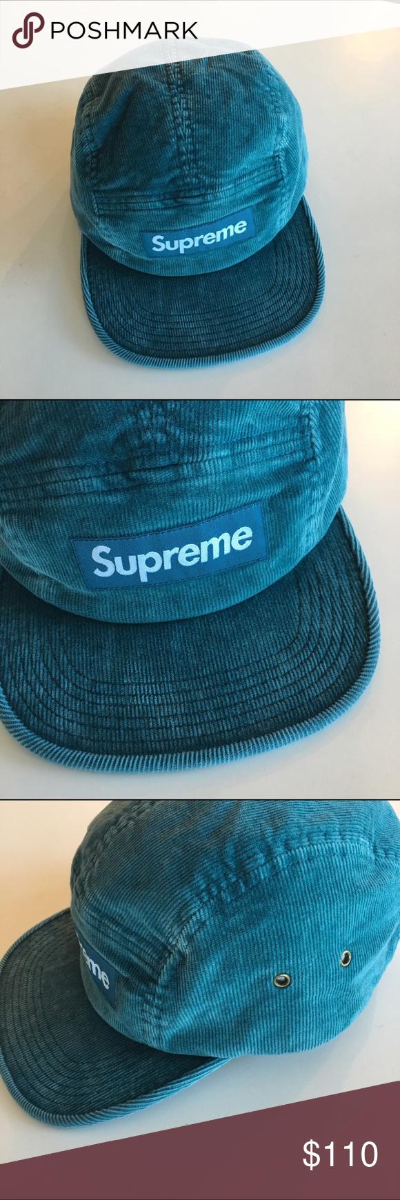 06d981e63de Supreme Supreme corduroy camp cap Supreme Accessories Hats ...