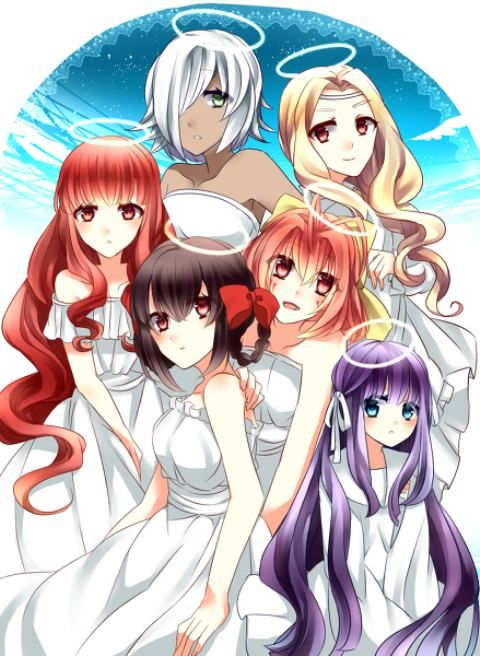 Goddess The World God Only Knows Anime Personagens