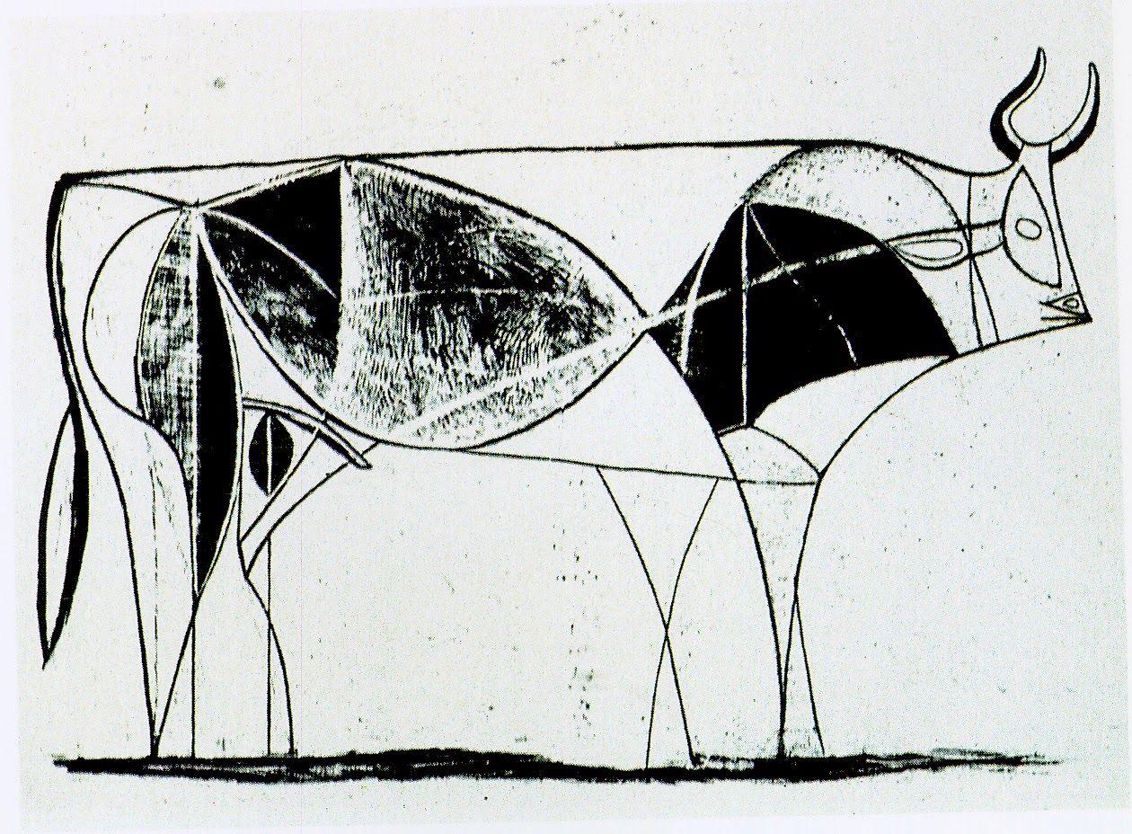 El toro, litografías