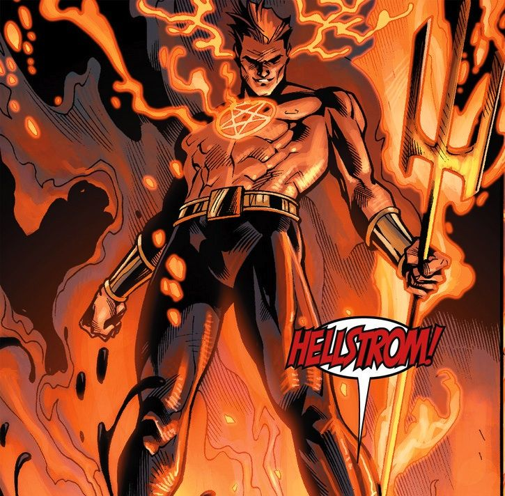 Daimon Hellstrom (Earth-616) | Marvel villains, Daimon hellstrom, Marvel