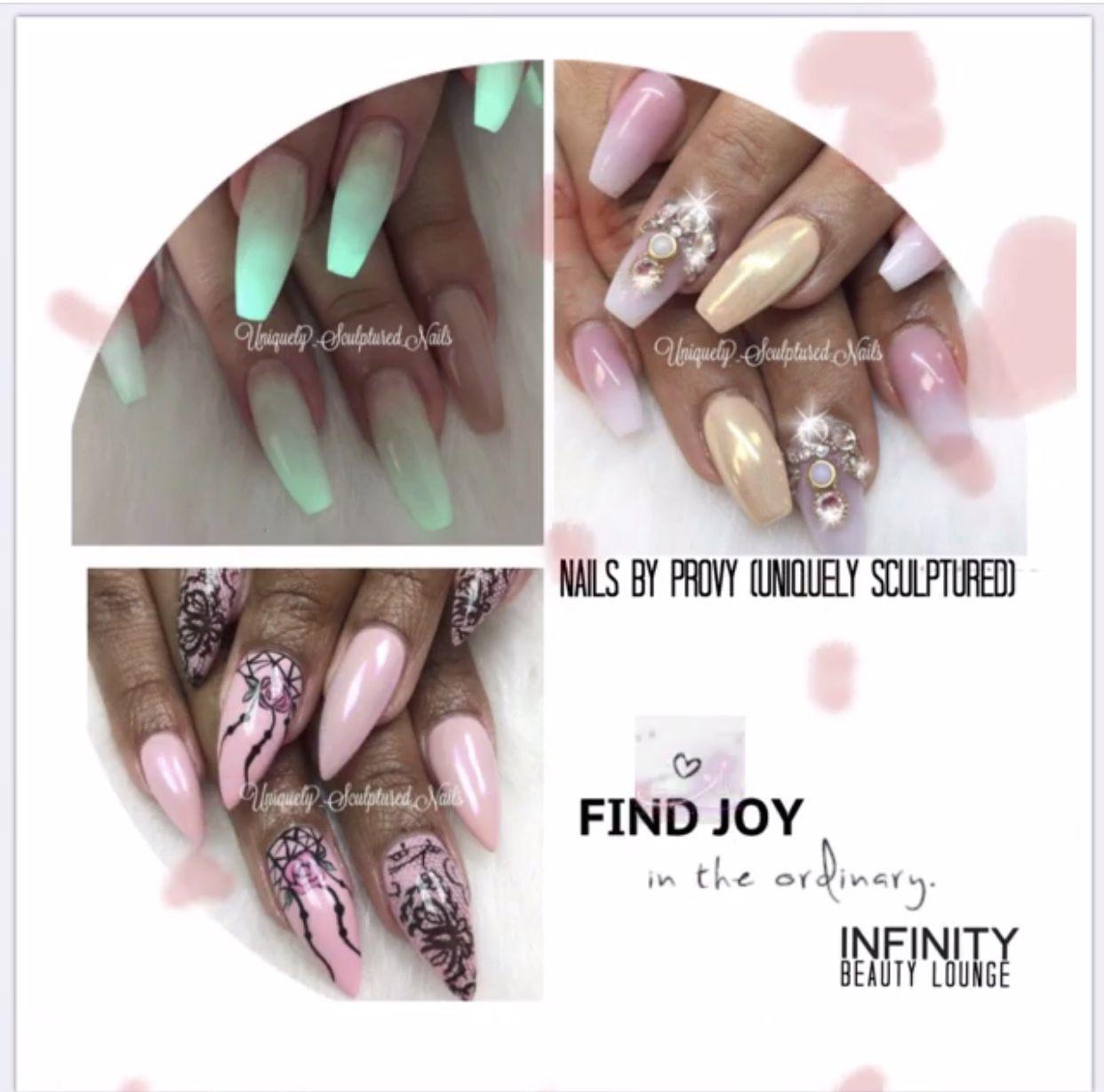 Infinity Beauty Jax 904 274 9333 Located At 3864 San Jose Park Dr Jax Fl 32217 Full Hair Nail Salon Jax J Graduation Nails Hair And Nail Salon Nail Shape