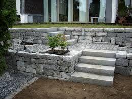 bildergebnis f r natursteinmauer terrasse stufen garten garten garten ideen und terrasse. Black Bedroom Furniture Sets. Home Design Ideas
