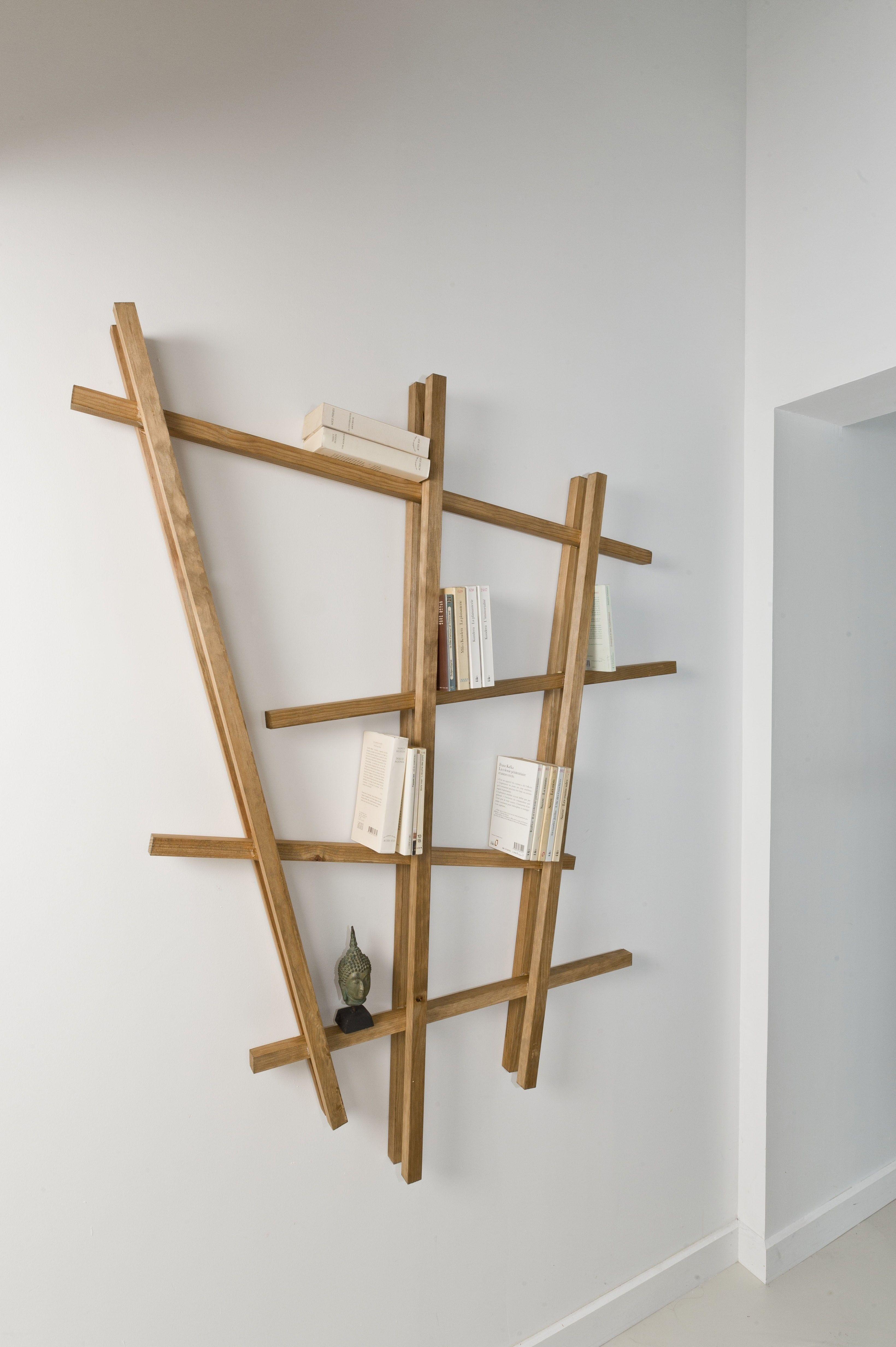 jeder sollte ein individuelles m belst ck im haus haben wir bauen uns ein stylisches holzregal. Black Bedroom Furniture Sets. Home Design Ideas