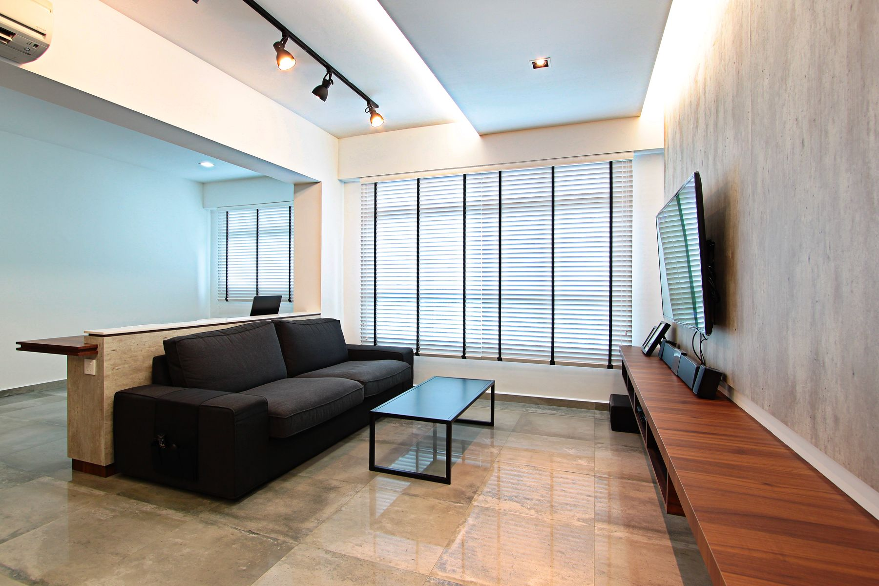 hdb standard flat love the overall clean interior with the most appeasing venetian blinds extra living room space with 1 room walls hacked down