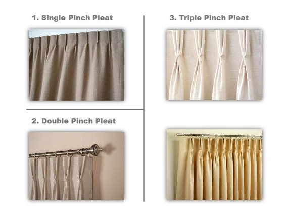Top Style Upgrade To Custom Drapes Pinch Pleats French Pleats