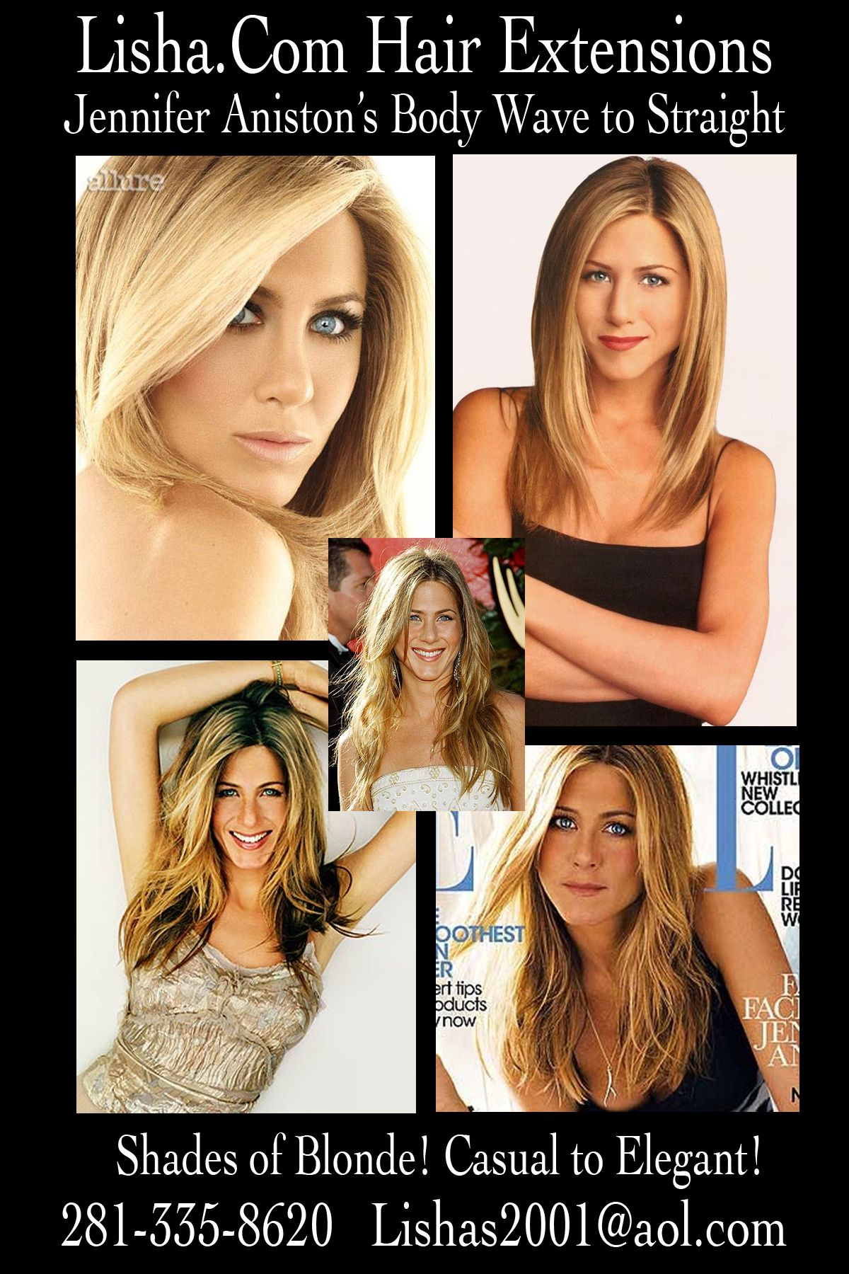 Jennifer Aniston Casual To Elegant Read The Hair Extensions Blog