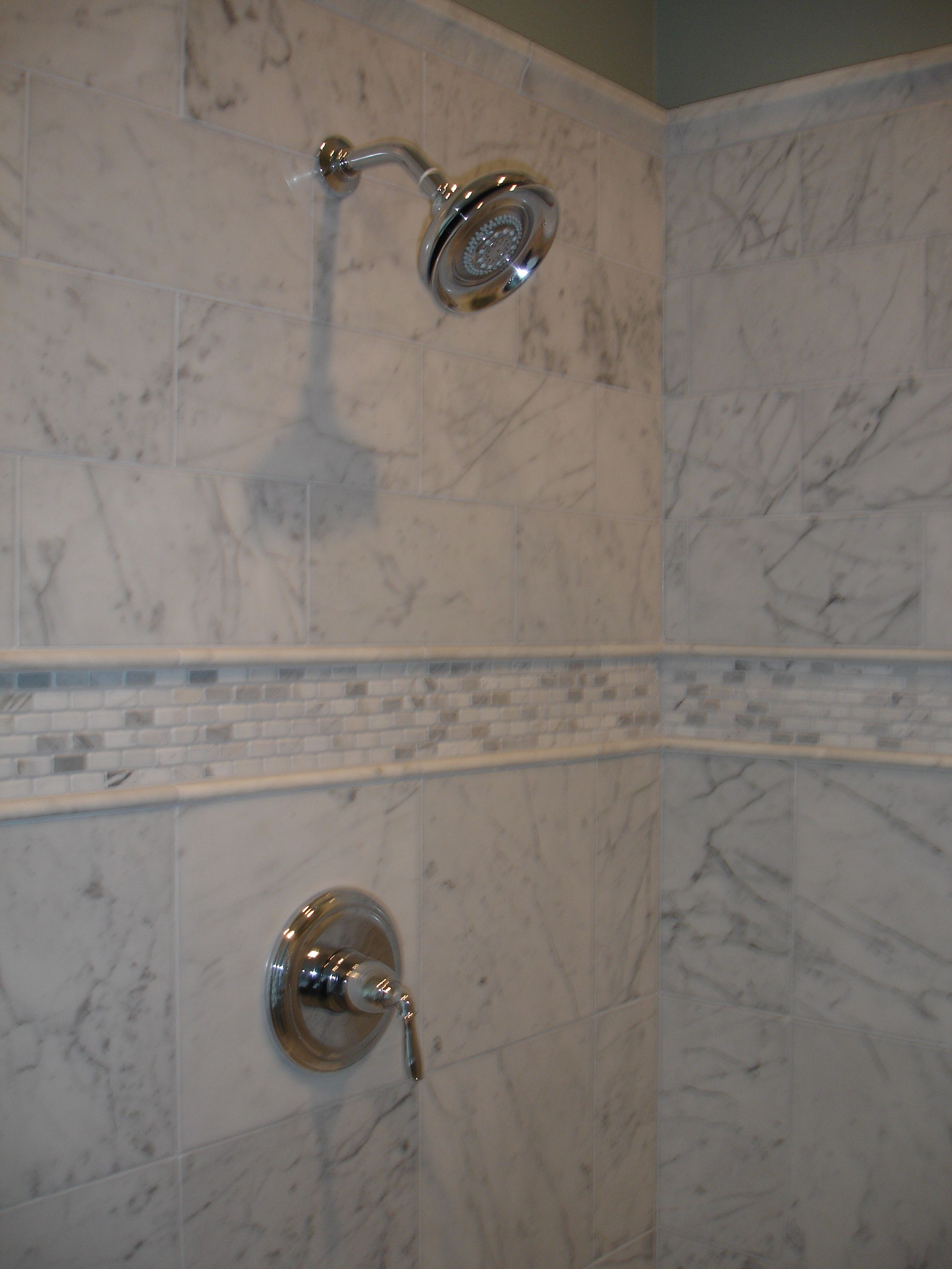 Carrera marble shower project gallery pinterest carrera carrera marble shower dailygadgetfo Gallery