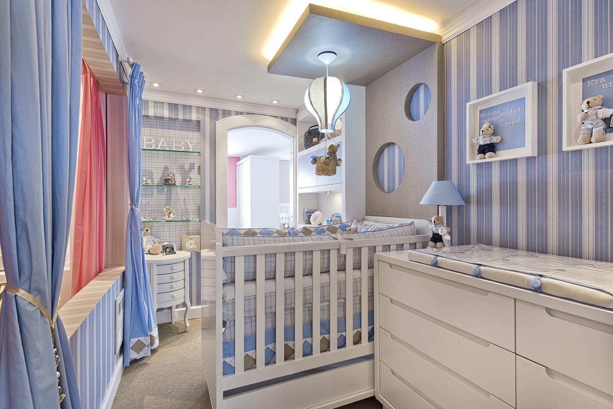 7 Ideias Para Montar Quarto De Beb Para Menino E Unissex Beb S  ~ Organizando E Decorando O Quarto Com Enfeites De Bebe Para Quarto