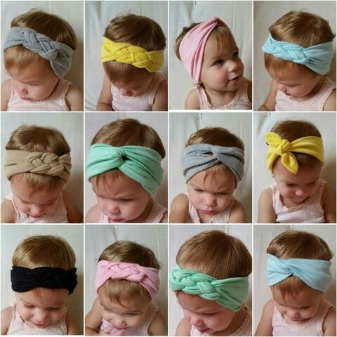 Headbands for babies and girls